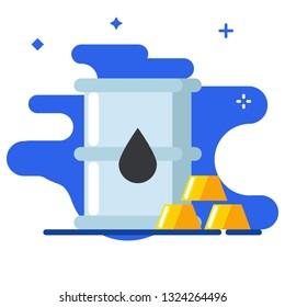 Commodity icon. Commodity illustration.