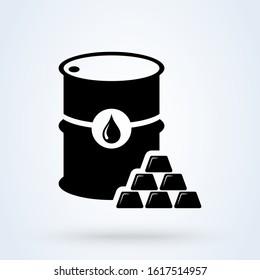 Commodity Simple vector modern icon design illustration.