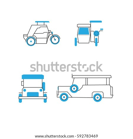 common public transportation philippines jeepney 450w 592783469 common public transportation philippines jeepney tricycle stock