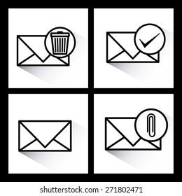 Communication design over white background, vector illustration