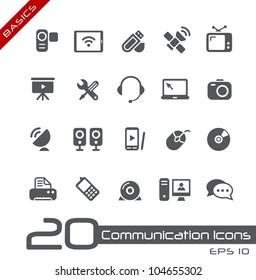 Communication Icons // Basics
