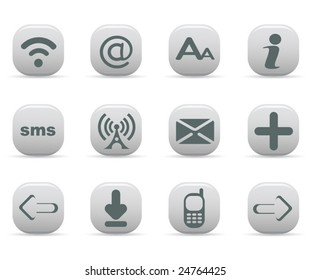 Communication Icons, mate series