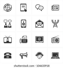 Communication Icons - Set 2