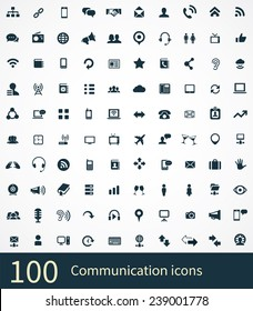 communication Icons Vector set