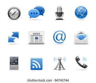 Communication icons for your design
