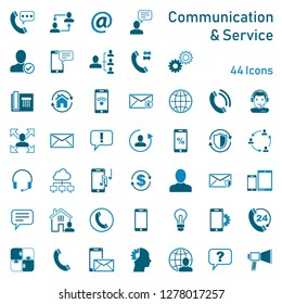 Communication Service Icons
