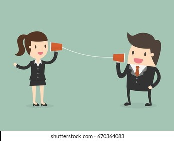 Communications. Business Concept Illustration.