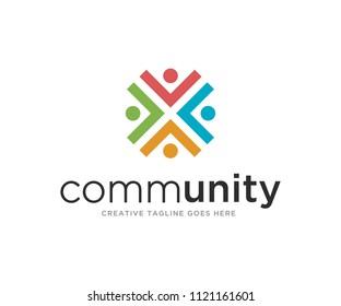 Community Logo Design Template Vector