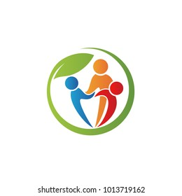 Community People Care Logo Symbol