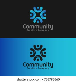 Community is a stylish letter C logo that can be used by team, club, community, team work, networking and many more