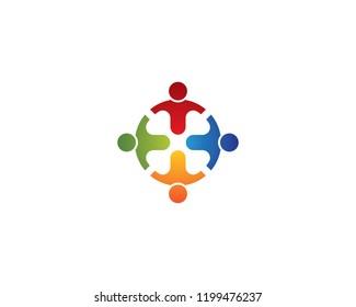 Community symbol illustration