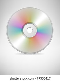 Compact disc vector background. Eps 10