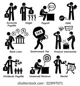 Company Business Liability Pictogram