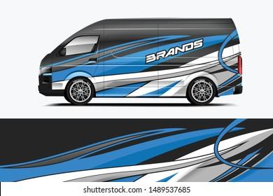 Company car wrap. wrap design for company car and services.