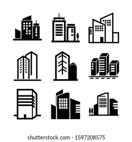 company icon isolated sign symbol vector illustration - high quality black style vector icons