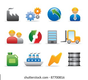 Company industry logo and icon