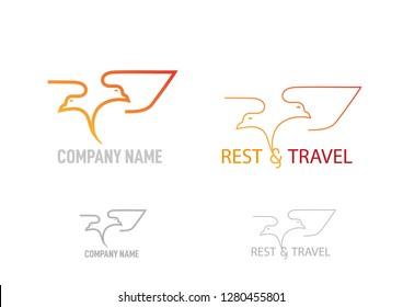 Company logo design. Vector illustration.