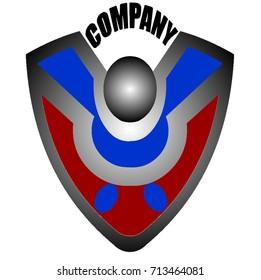 Company Logo Security Colour Vector