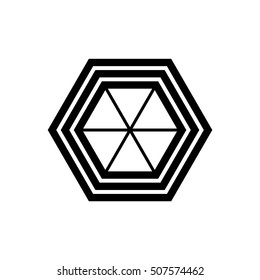 Company mark, emblem, element. geometric. Vector illustration EPS 10.