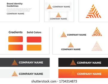 Company Name Logo-Vector design elements for your company logo, Modern logotipe, business corporate template.