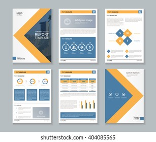 company profile ,annual report , brochure , fl yer, layout template,page layout,and business info chart element, A 4  ,vector editable