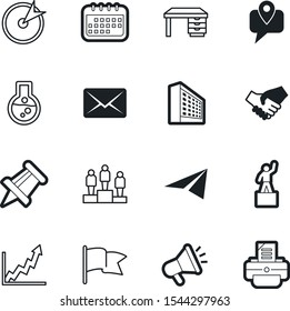 company vector icon set such as: financial, accurate, progress, document, logistic, beaker, logo, newsletter, mail, attachment, development, send, correspondence, tracking, creative, chemical, button