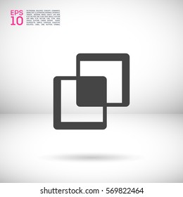 Comparison isolated minimal single flat icon. Line vector icon for websites and mobile minimalistic flat design.