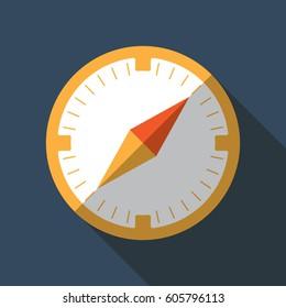 Compas flat icon
