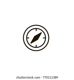 compas icon. compas design