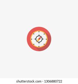 compas icon graphic element Illustration template design
