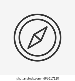 Compas icon illustration isolated vector sign symbol