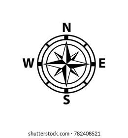 compas icon vector