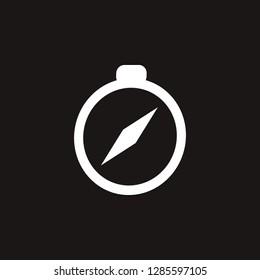 compas icon. compas vector design. sign design