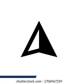 Compas icon vector symbol design