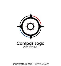 Compas logo template
