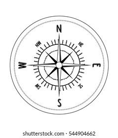 Compas trevel vector