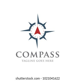 compass adventure logo icon vector template