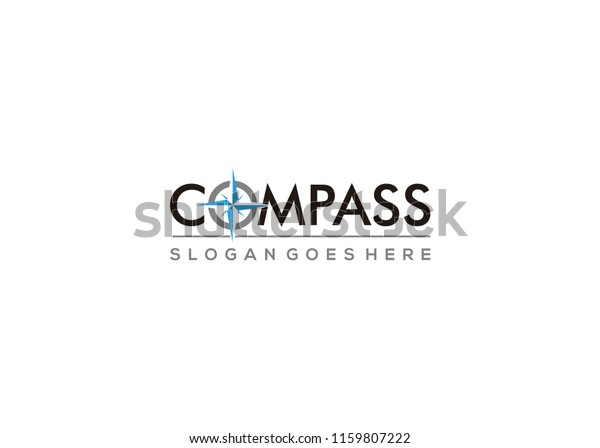 Compass Business Company Vector Illustration Stock Vector (Royalty