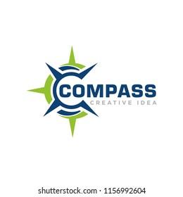 Compass Concept Logo Design Template