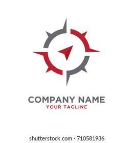 compass design logo template
