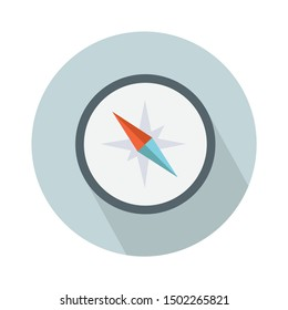 compass flat icon - From Map, Navigation, and Location Icons set