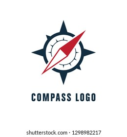 Compass Icon Logo Template