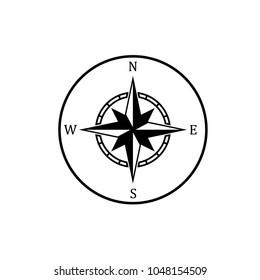 Compass icon symbol