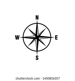Compass Icon Vector Design Symbol Illustration