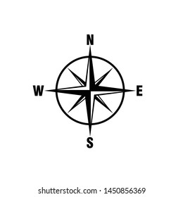 Compass Icon Vector Design Symbol Illustration