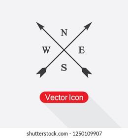 Compass Icon Vector Illustration Eps10