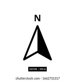 compass icon vector illustration simple design