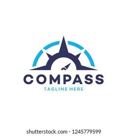 navigation logo images stock photos vectors shutterstock https www shutterstock com image vector compass logo design 1245779599