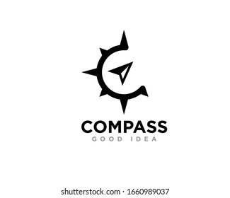 Compass Logo Icon Design Vector