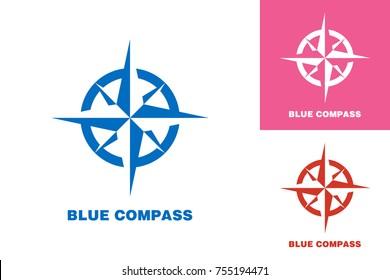 Compass Logo Template Design